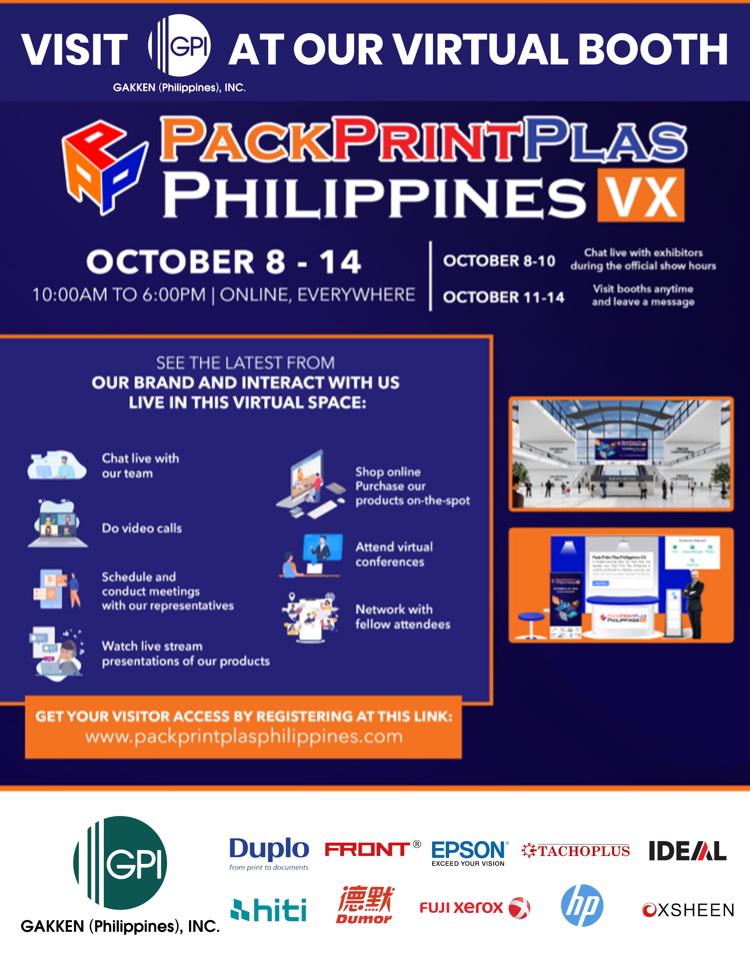GPI Participates In Pack Print Plas Philippines VX 2020 – The First Ever Virtual Exhibit In The Country!
