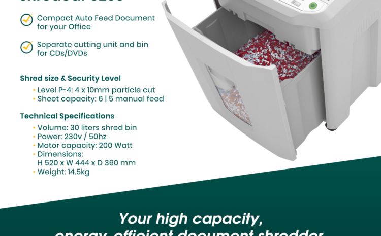 IDEAL SHREDCAT 8280: Secure Your Office and Get Rid of Clutter!