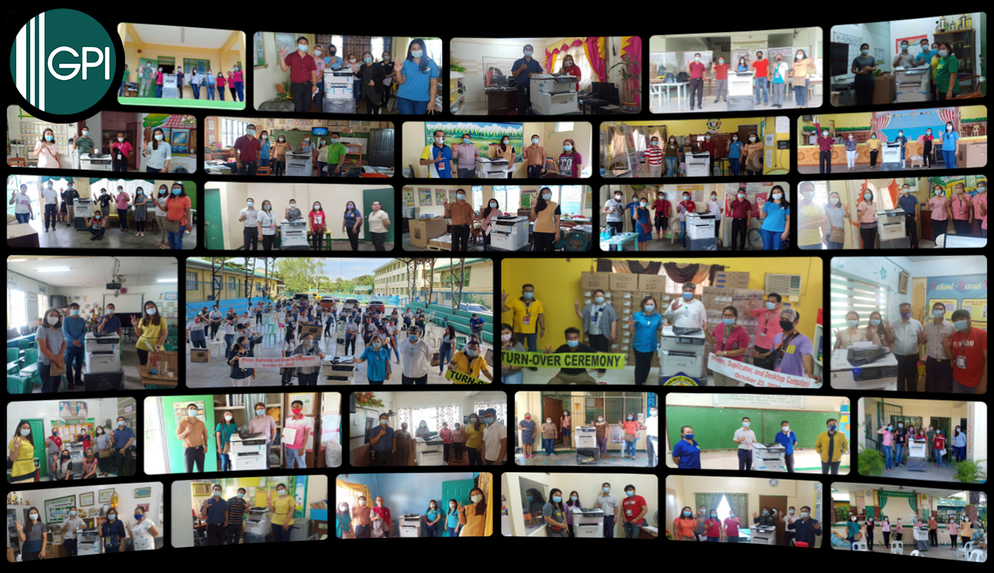 GAKKEN (Philippines), INC. Successfully Delivers Printers to DepEd Meycauayan!
