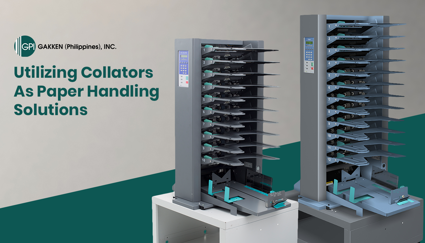 Utilizing Collators As Paper Handling Solutions